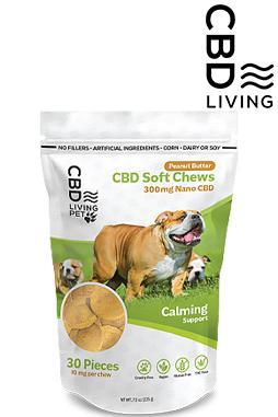 CBD Living Pet Dog Chew - Soft