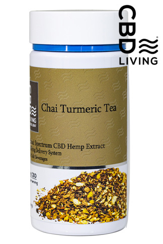 CBD Living Chai Turmeric Tea 250 mg