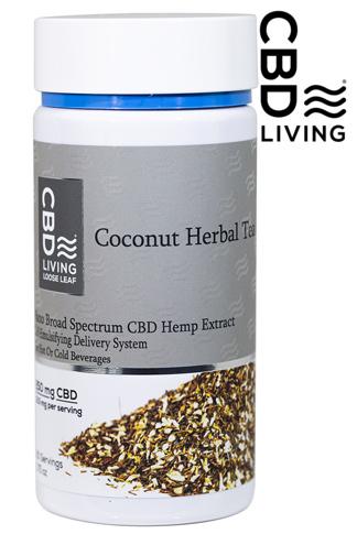 CBD Living Coconut Herbal Tea 250 mg
