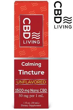 CBD Tincture - CBD Oil Drops 1500mg