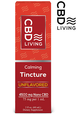 CBD Tincture - CBD Oil Drops 4500mg