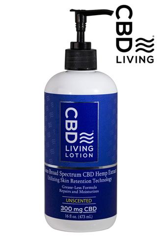 CBD Living Lotion 300mg