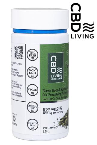 CBD Living Passion Green Tea 250 mg