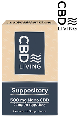 CBD Living - CBD Living Suppositories