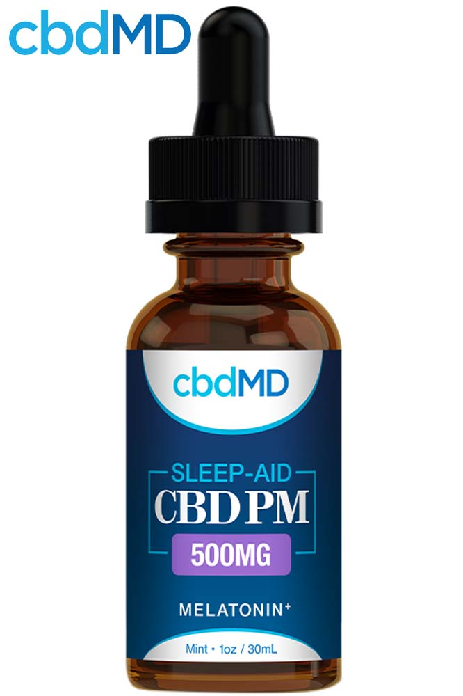 undefined - CBD PM for Sleep - Mint - 500 mg - 30 ml