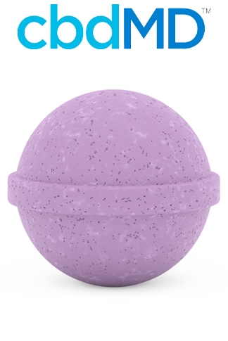 undefined - Relax CBD Bath Bomb Lavender