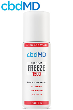 undefined - 1500mg CBD Freeze Roller