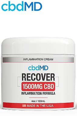 undefined - CBD Recover Tub 1500mg - 4oz Tub