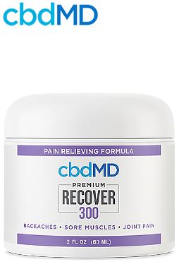 undefined - CBD Recover Tub 300mg - 2oz Tub