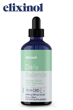 undefined - Daily Balance Tincture Broad Spectrum 16mg