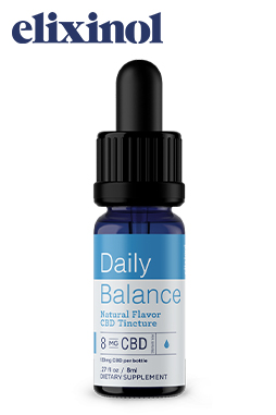 Elixinol - Daily Balance Tincture Full Spectrum 133mg