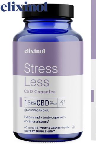 Elixinol - Stress Less Capsules