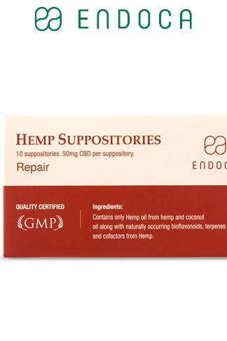 undefined - CBD Suppositories 500mg CBD