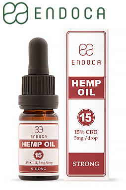 Endoca - CBD Oil 150Mg CBD/ml (Strong)