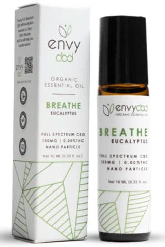 CBD Breathe Essential Oil Roll-On
