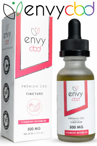 Envy CBD - CBD Tincture Oil - Strawberry Watermelon 1500