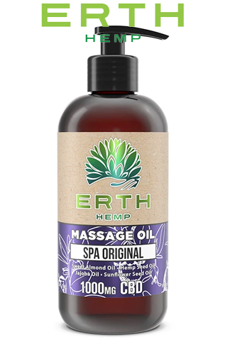 CBD Massage Oil - Spa Original - 1000 mg