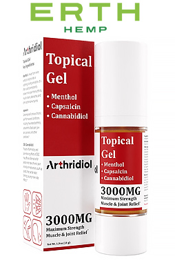 Arthridiol - Maximum Strength Muscle & Joint Relief - Gel