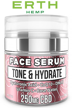 CBD Face Serum - Tone & Hydrate - 250mg
