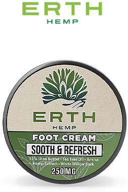 CBD Foot Cream - Sooth & Refresh - 250mg