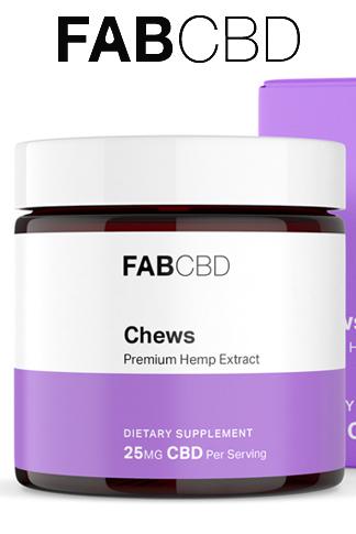 Fab CBD - CBD Chews