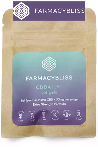 Farmacy Bliss - CBD Softgels – 120mg