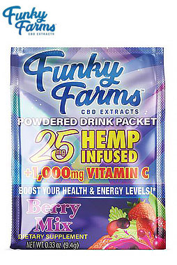 Drink Packet 25mg Berry Mix
