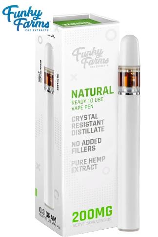 Funky Farms Natural CRD Disposable Vape Pen 0.3mL (200mg)
