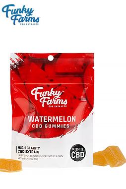 Watermelon Gummies 50mg/pack