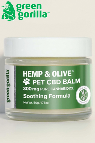 Organic CBD Balm For Dogs & Pets 300mg