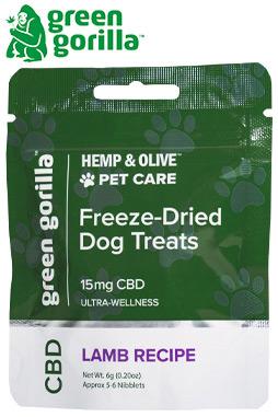 Freeze-Dried CBD Dog Treats