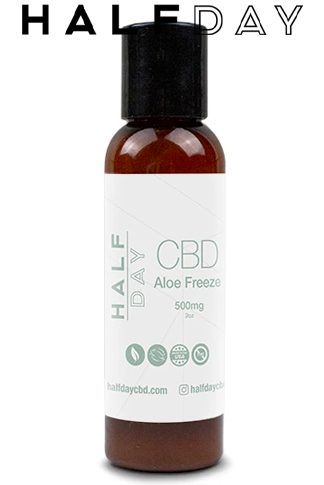 undefined - 500 mg CBD Aloe Freeze Lotion