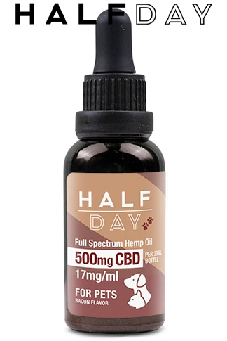 undefined - 500 mg – Bacon – Full Spectrum Pet CBD – 30 ml