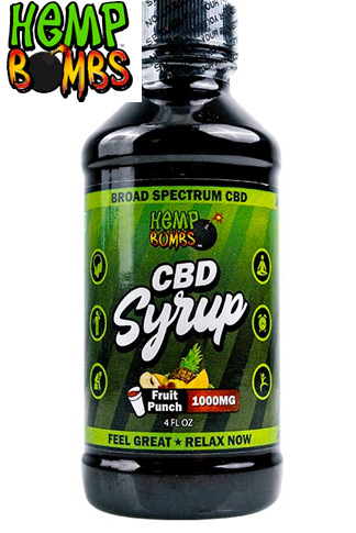 Hemp Bombs - 1000mg CBD Syrup