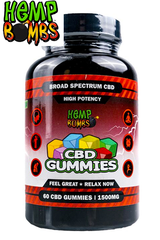 High Potency CBD Gummies 60-Count