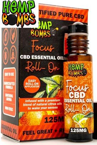 CBD Essential Oil Roller – Focus Blend