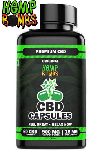 CBD Capsules 60-Count