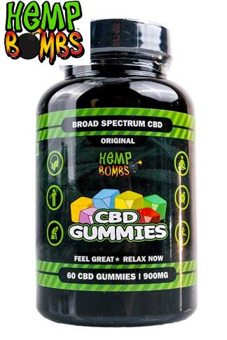 Hemp Bombs - CBD Gummies 60-Count