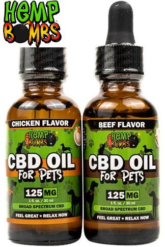 125mg Pet CBD Oil