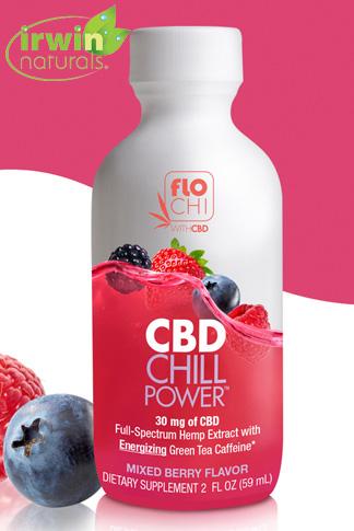 CBD Chill Power | Mixed Berry | 30mg CBD | 12-Pack