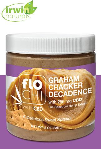 CBD Spread | Graham Cracker | 250mg CBD