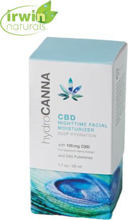CBD Nighttime Facial Moisturizer (100 mg CBD)