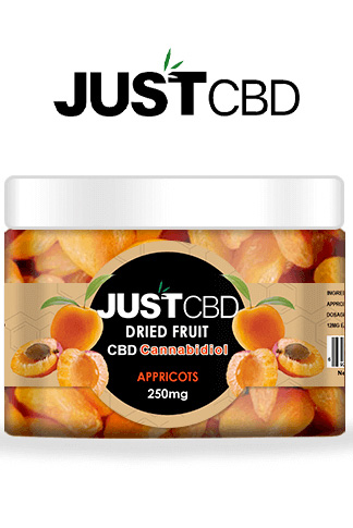 CBD Dried Fruit 250mg Jar