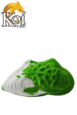 Koi CBD - Koi CBD - CBD Bath - Lemon Lime and Lavender Bath Bomb - 100mg