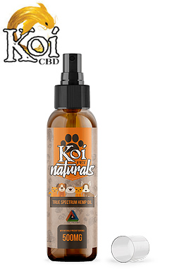 Koi CBD - Koi Naturals Hemp Extract CBD Pet Spray