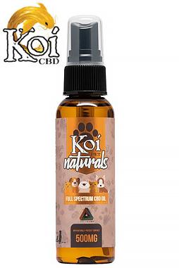 Koi CBD - Koi CBD - CBD Pet Topical - Naturals Spray - 500mg
