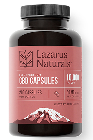 undefined - 50mg Full Spectrum CBD Capsules