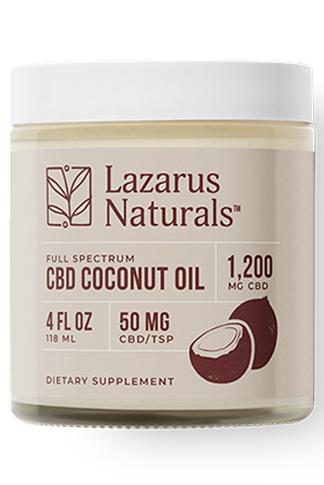 Lazarus Naturals - CBD Coconut Oil