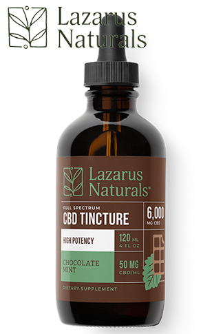 Chocolate Mint Flavored High Potency Full Spectrum CBD Tincture