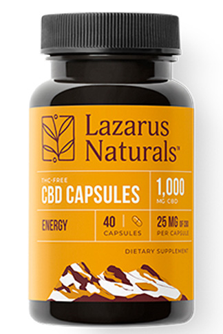 undefined - Energy Blend 25mg CBD Isolate Capsules